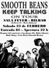 "SMOOTH BEANS Presenta: ""KEEP TALKING"" en BILBAO"