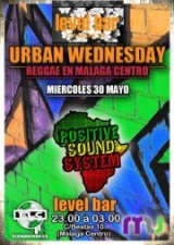 POSITIVE SOUND URBAN WEDNESDAY @ MALAGA CENTRO-LEVEL BAR!