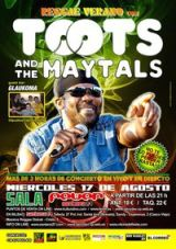 Entradas TOOTS & THE MAYTALS