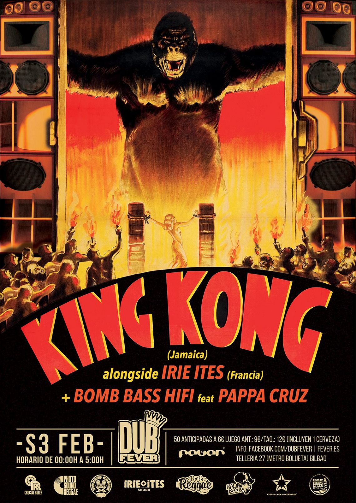 DUB FEVER KING KONG